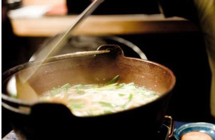 コラーゲン鍋を食べよう